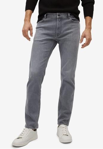 MANGO Man grey Slim Fit Ultra Soft Touch Patrick Jeans 00906AA710DB6EGS_1