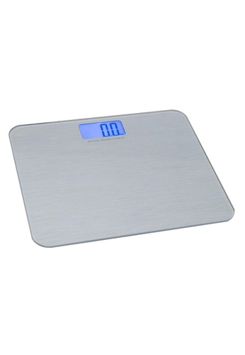 JVD JVD Lifestyle Elan Deluxe Alt Digital Personal Scale, Silver. 2FBE9HLBA257DDGS_1