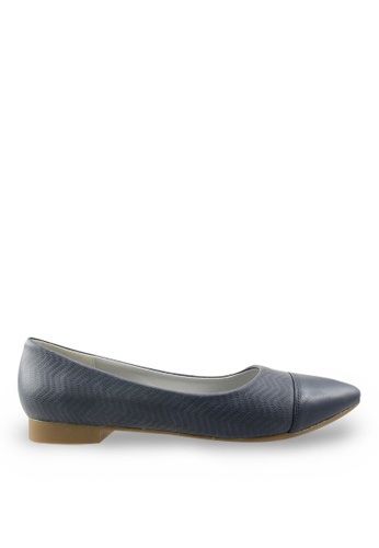Footspot blue FOOTSPOT - Pointed Toe Flats FO296SH76KYTHK_1