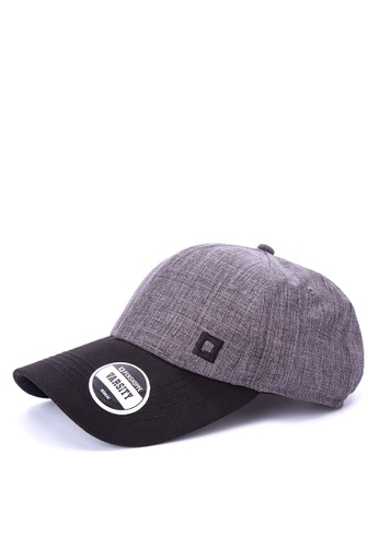 Penshoppe grey Chambray Baseball Cap DDD46ACAEEEEF0GS_1