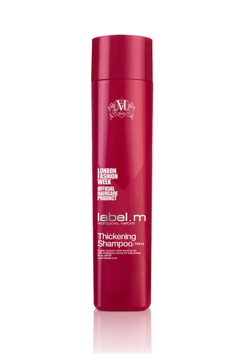 label.m red Thickening Shampoo 300ml LA590BE29CJMSG_1