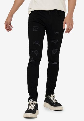 Only & Sons black Warp Life Ski Dam Black Jeans Pk 8656 0C735AA41176A7GS_1
