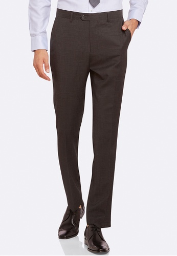 Oxford grey Auden Wool Suit Trouser D6612AA979BF2FGS_1