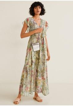 0b8d9fb6f8cf 20% OFF Mango Flower Chiffon Dress RM 387.90 NOW RM 309.90 Sizes XS S M L