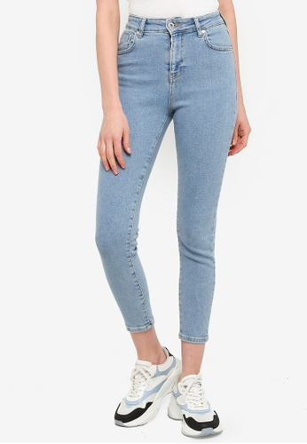 The Ragged Priest blue Minnie Skinny Jeans 67FE2AA169DA81GS_1