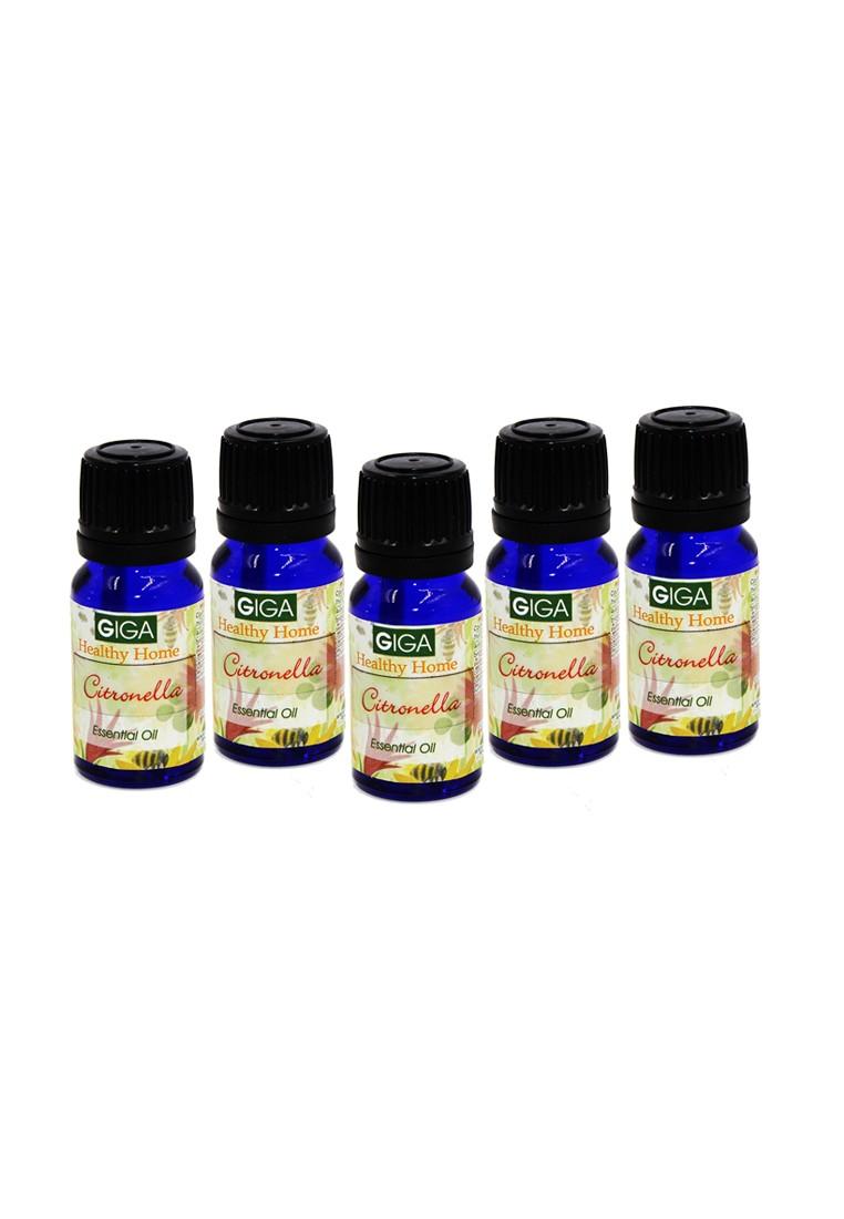 Citronella Essential Oil 10ml, Set of 5