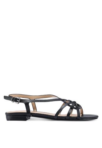 Divine Factory black Bunny Sandals 11622SHFA4923AGS_1