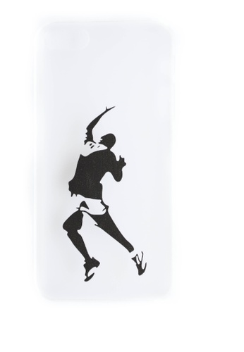 Fancy Cellphone Cases multi Basketball Hard Transparent Case for iPhone 5/5s/SE FA644AC66CBTPH_1