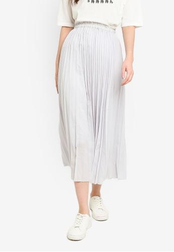 niko and ... grey Woven Skirt 17A9BAA65761A1GS_1