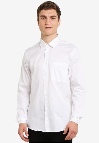MANGO Man white Regular-Fit Cotton Shirt MA449AA0RZ10MY_1