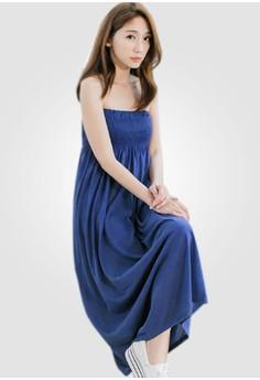 Summer Escapade Strapless Dress