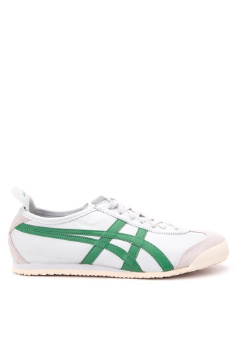 Onitsuka Tiger grey and green Mexico 66 Lace-up Sneakers ON625SH41DASPH_1