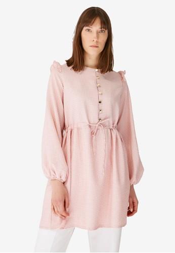 Trendyol pink Button Tunic 4B139AA547735FGS_1