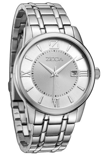 ZECA silver Zeca Watches Couple Men Fashion - 305M Silver ZE260AC92SKPSG_1