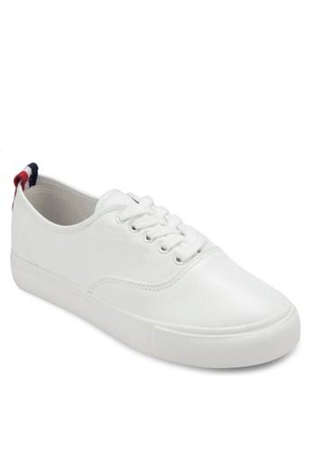 esprit 見工仿皮繫帶休閒鞋, 女鞋, 鞋