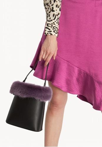 ea104d4f03f7 Buy Pomelo Faux Fur Bucket Bag - Purple Online on ZALORA Singapore