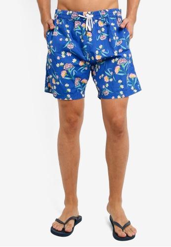 Cotton On 藍色 Kahuna Shorts C28C2AACD14871GS_1