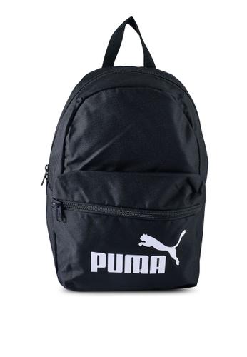 PUMA black Phase Small Backpack 39068KC06F2AEBGS_1