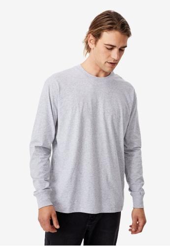 Cotton On grey Tbar Long Sleeve T-Shirt C0162AAFCA0A35GS_1