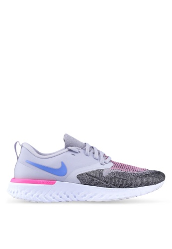 eaf79df4432b Shop Nike Nike Odyssey React Flyknit 2 Shoes Online on ZALORA ...