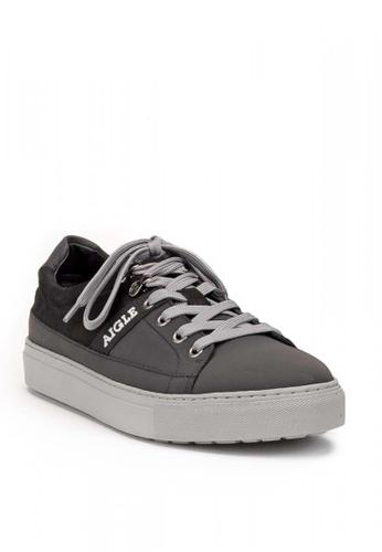 Aigle black Saguvi Low Sneakers 53AB4SH39F58ADGS_1
