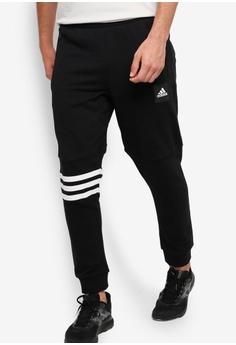 23960fdeeee5 adidas black adidas id fat terry pants 14CC7AA1C1FD77GS 1