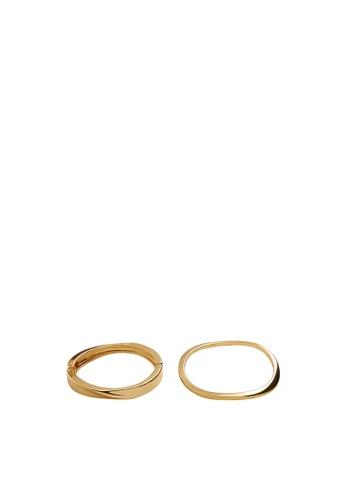 Mango gold Casual Bracelet C99E3AC6AD2617GS_1