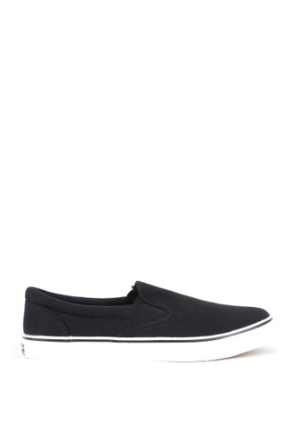 World Balance black Serge MS Slip On B558CSH827010CGS_1
