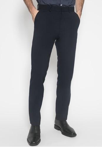 Johnwin black Slim Fit - Celana Panjang Formal - Double Pocket - Hitam 28C12AA8ED860EGS_1