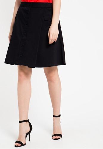 EDITION black Safari Skirt ED101AA54ZMJID_1