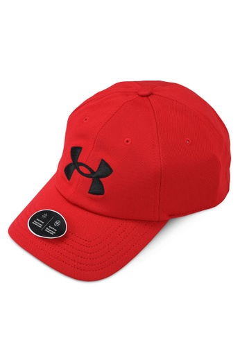 Under Armour red Blitzing Adj Cap 0B2ACACE972C2DGS_1