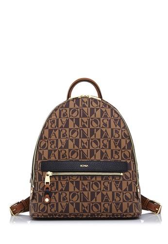 BONIA black Black Milagros Backpack L 33B65AC42639D8GS_1