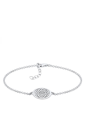 Elli Germany silver 925 Sterling Silver Flower of Life Bracelet EL474AC55GPGMY_1