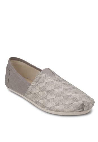 鑽石印花懶人鞋, 鞋, 懶人zalora鞋子評價鞋