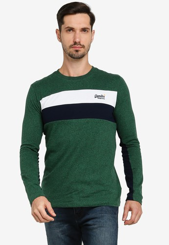 Superdry green Orange Label Engineered Sweater 728DAAA3B48DCEGS_1
