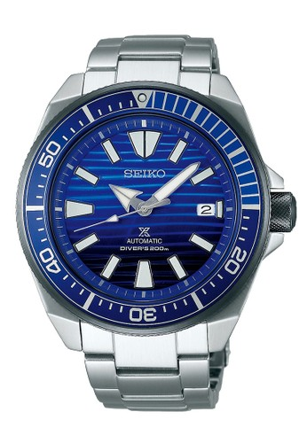 Seiko silver Seiko Prospex Jam Tangan Pria - Silver Blue - Stainless Steel - SRPC93K1 Automatic Divers Limited Edition D70E2AC448E651GS_1