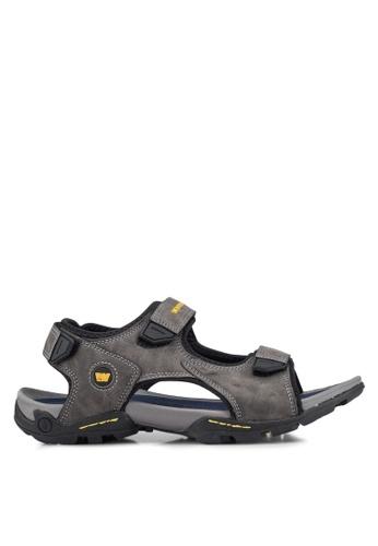 Weinbrenner grey Strap On Sandals ABA7CSHF4C2435GS_1