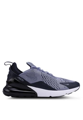 Nike grey Nike Air Max 270 Shoes 64567SHB065F40GS_1