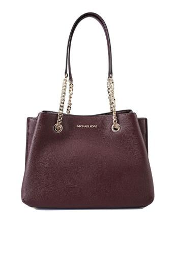 Michael Kors red Teagan Handbag (nt) E09E4AC9775977GS_1