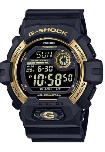 CASIO black Casio G-Shock G-8900GB-1DR Gold and Black Resin Watch AB8A6ACBA7CDD4GS_1