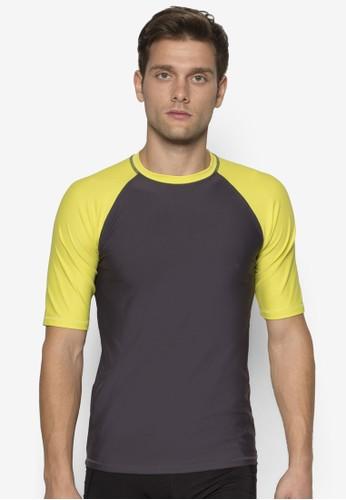 羅紋圓領短袖衝浪上衣, 服飾, esprit 評價Rashguards
