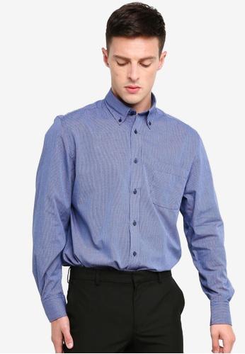 OVS 灰色 修身長袖襯衫 2829EAAE82EECDGS_1