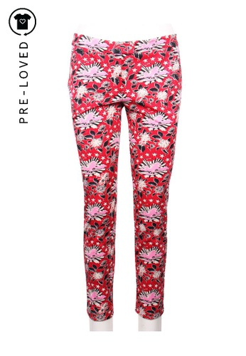 Juicy Couture red Pre-Loved juicy couture Red Flower Print Pant 54751AAF9E0DA7GS_1