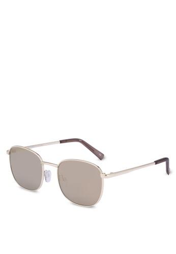 Le Specs gold Neptune 1702084 Sunglasses 54B77GL5D2B0FBGS_1