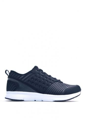 ACCEL black Champ Running Shoes B93C5SH9AA7D12GS_1