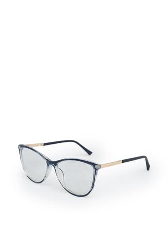 9 to 12 navy Clear Curved Glasses Kacamata Wanita [732002] 41134GL47CE096GS_1