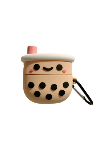 Kings Collection brown Bubble Tea AirPods Pro Case (KCAC2160P) 47862ACB28A8A2GS_1