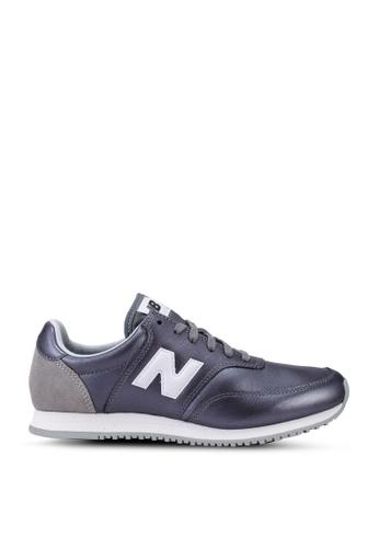 New Balance grey Comps 100 Classic Running Shoes 4B8DCSH5D96E7EGS_1