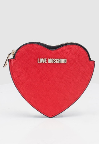 2b7d7dc0a7b Shop Love Moschino Heart Coin Purse Online on ZALORA Philippines