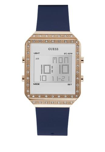 Guess Watches blue Digital Quartz Watch 3E774ACB6A4048GS_1